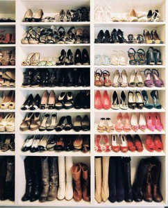 Exceptionnel The DIY: Create Your Own Organized Shoe Closet