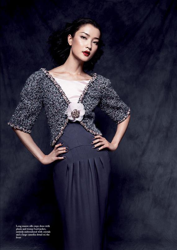 Du Juan & Tian Yi for Glass Magazine #12 Winter 2012
