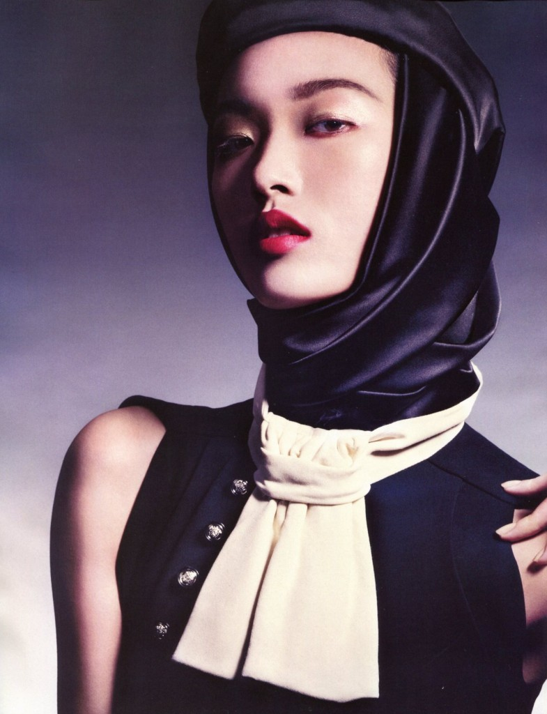 Tian Yi – Vogue China January 2013