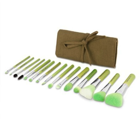 Bdellium Tools Professional Makeup Green Brushes