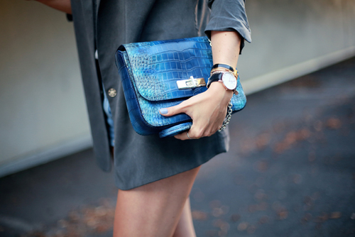 blue-leather
