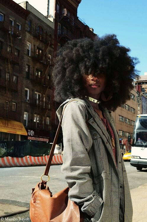 Natural Hairstyle Ideas For Fall Blushing Black