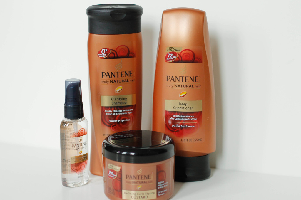 Pantene Pro V S Truly Natural Hair Care Review Blushing