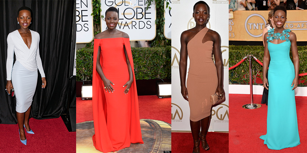 Lupita Nyong'o fashion red carpet