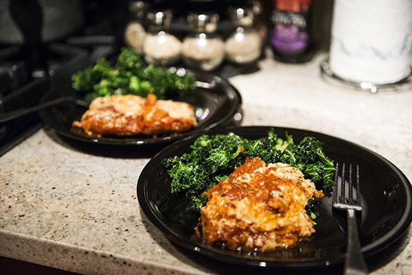 how to make eggplant parmesan