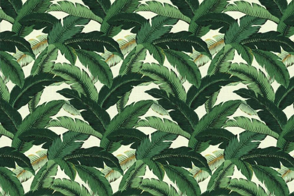 Palm print pattern