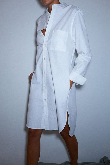 white-shirt-dress