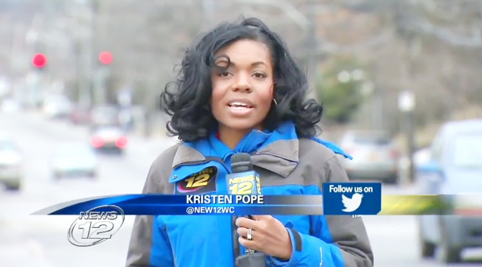 Kriste wind blown hair News 12