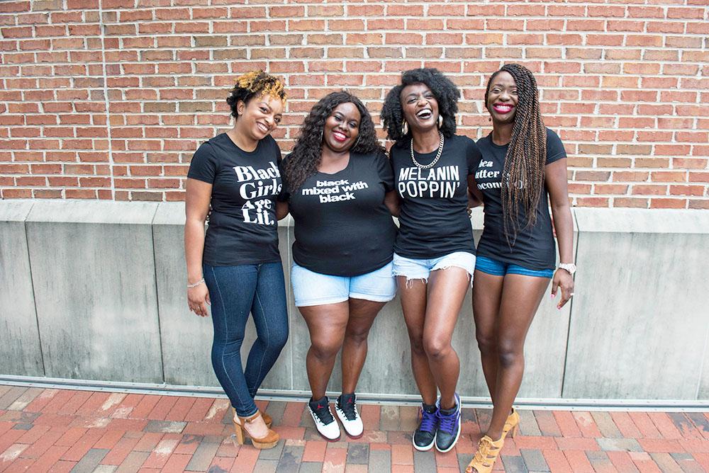 National Girlfriends Day | Blushing Black