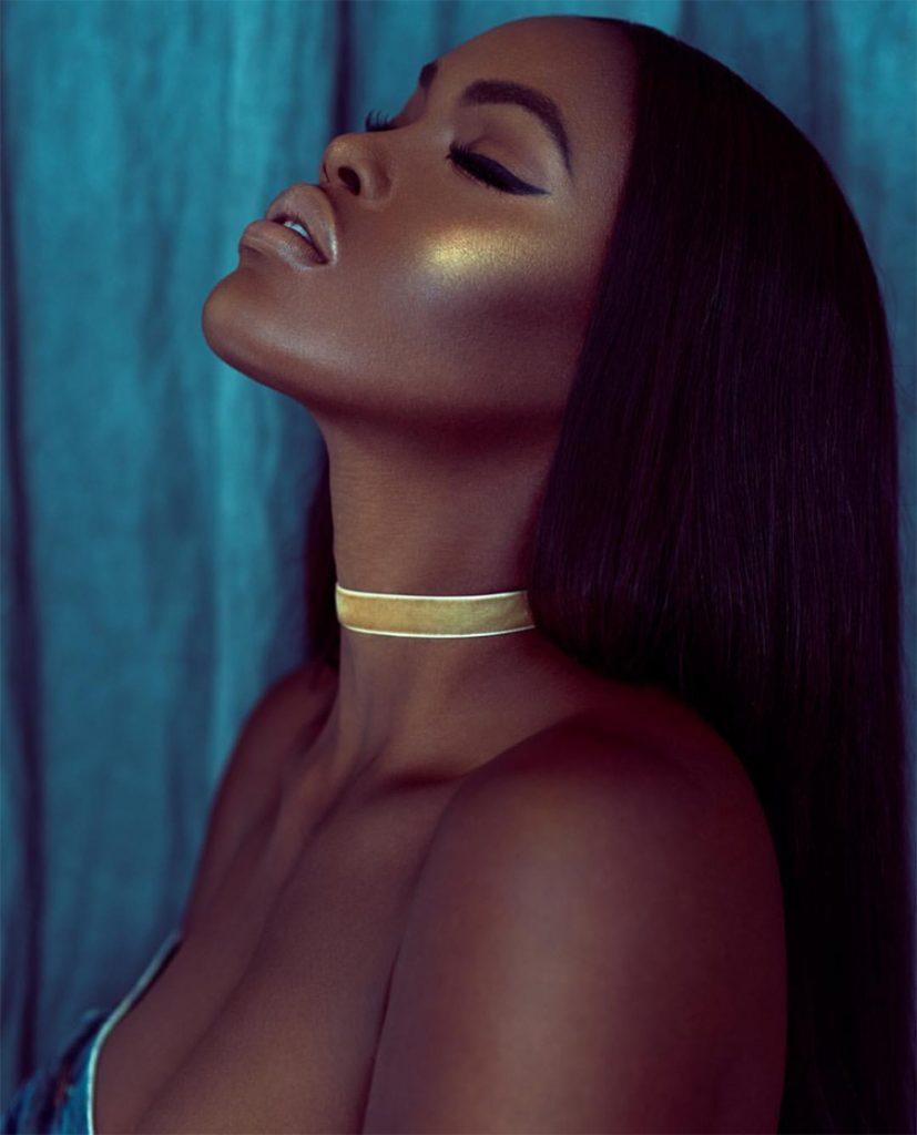 Gold Makeup Black Girl